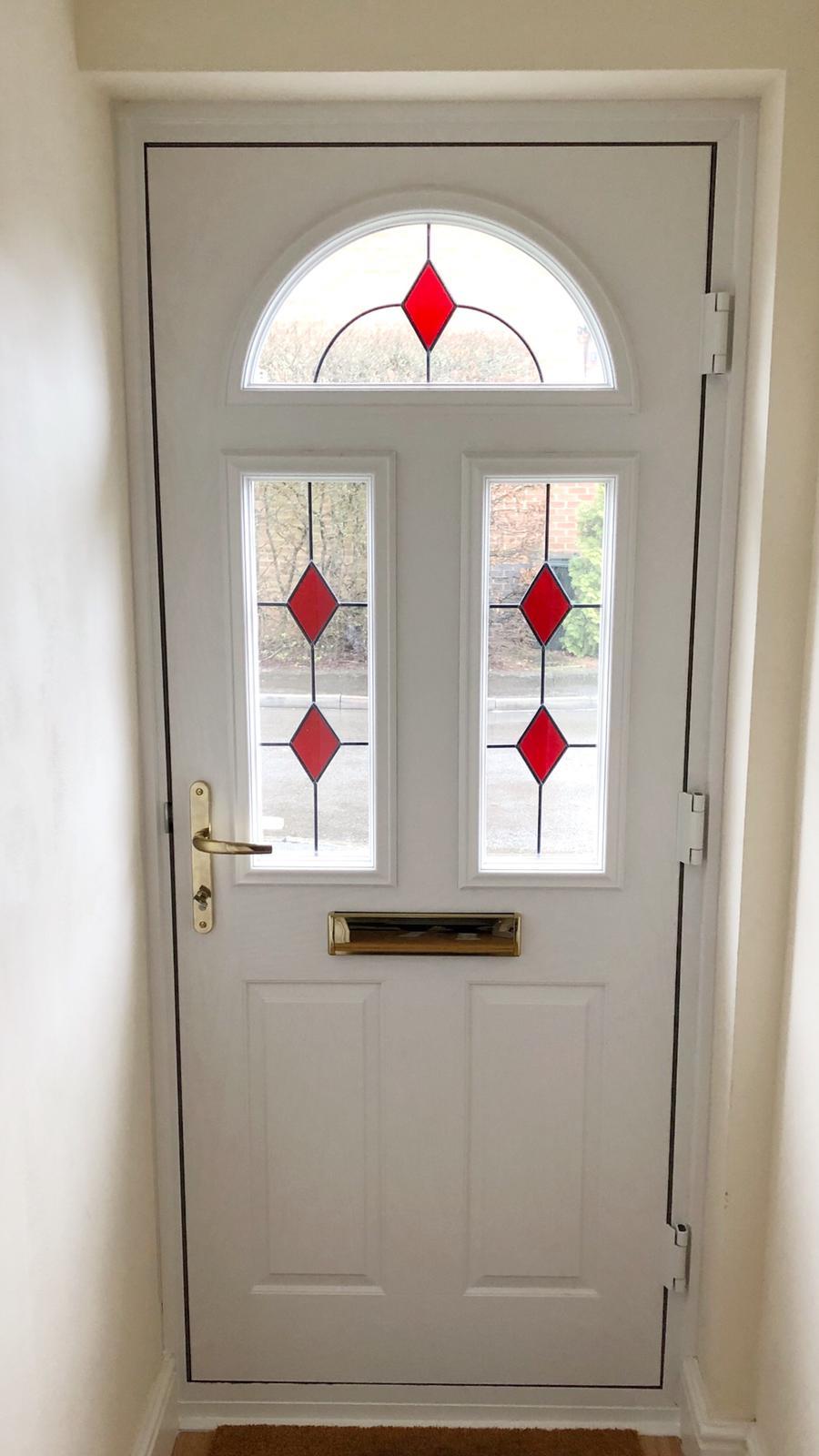 white composite door internal
